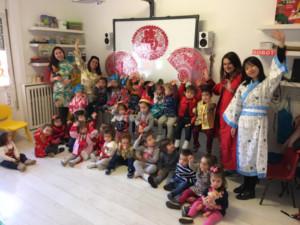 La guarderia Alaria celebra la llegada del Año Nuevo Chino