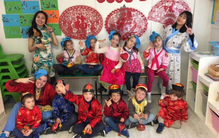Celebración del Año Nuevo chino en Alaria Nursery Schools