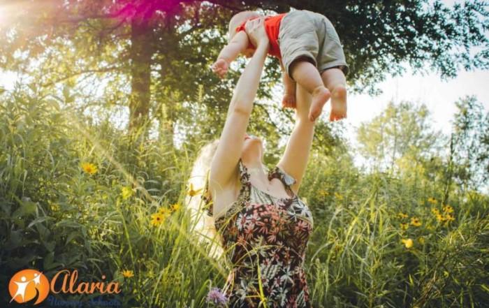 La primavera afecta a los bebés