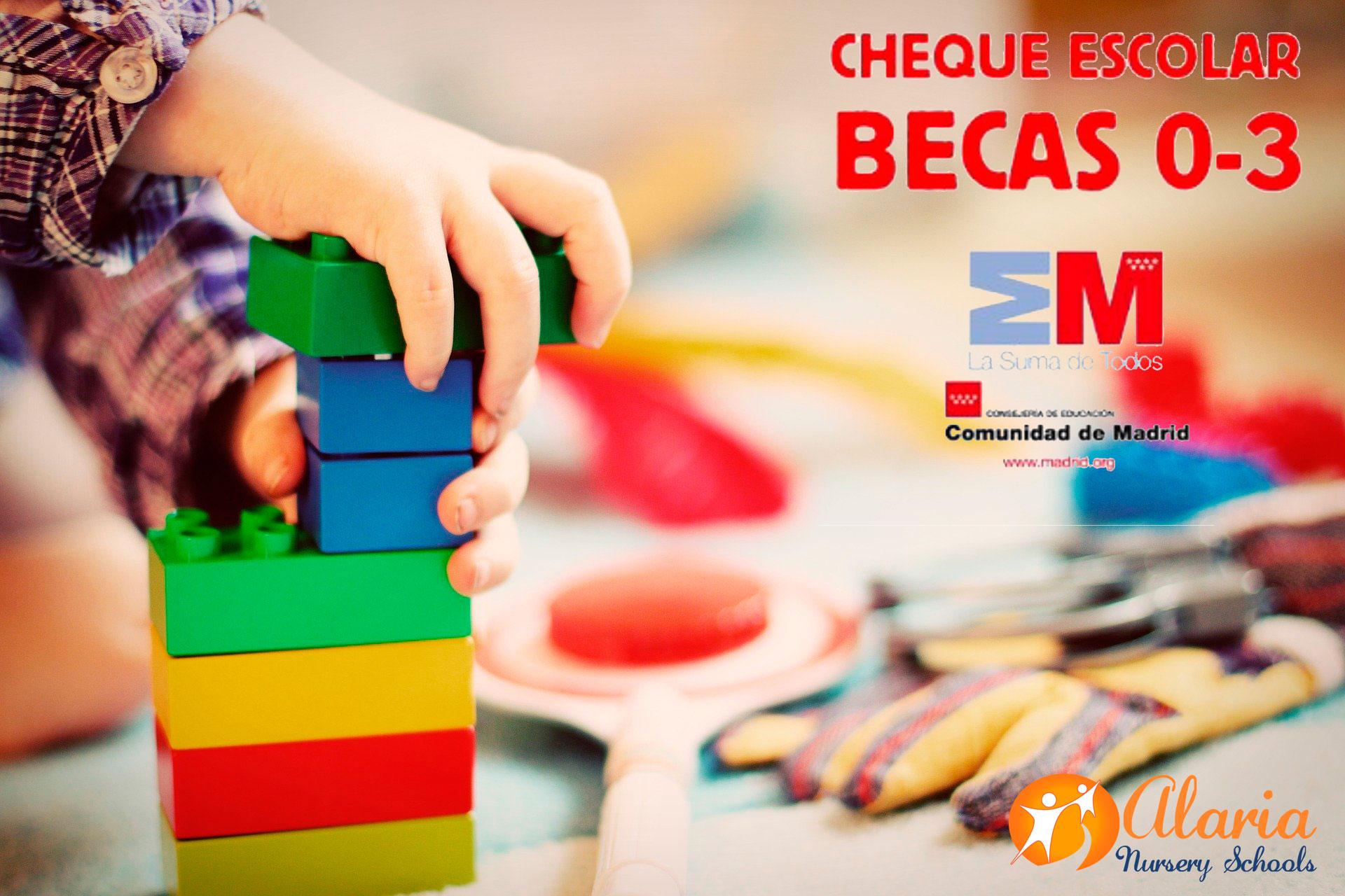 Becas de la Comunidad de Madrid 2020 para escuelas infantiles